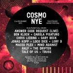 Capodanno COSMO Festival 31 dicembre 2015
