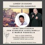 Gianicolo in musica 25 giugno 2018