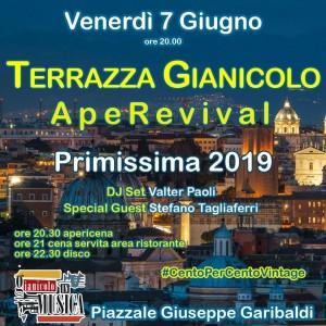 Terrazza Gianicolo Venerdi 7 Giugno 2019 Cento Per Cento