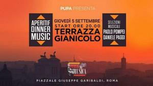 Terrazza Gianicolo Giovedi 5 Settembre 2019 Pupa